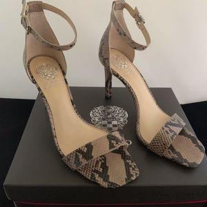 Lauralie Leather Ankle Strap Sandal